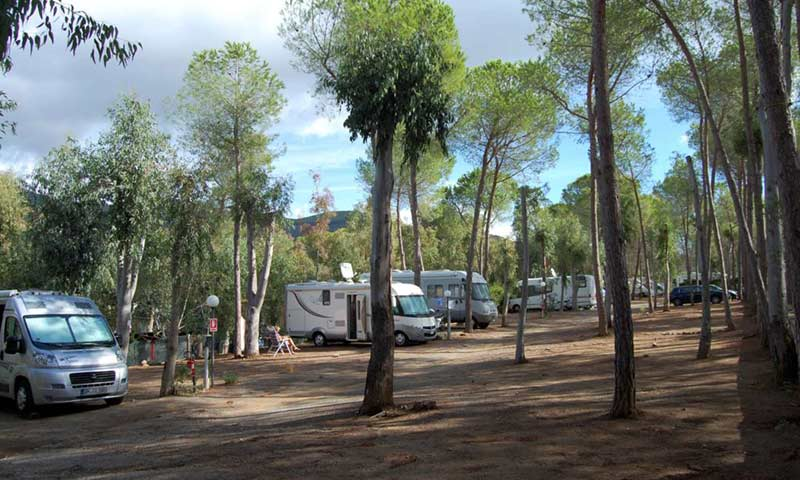Isola Elba Campeggio Lacona