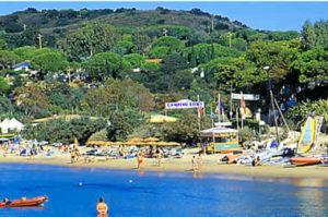 Isola Elba Campeggio Lido